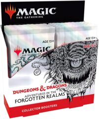 MTG magic cards: PRESALE Adventures in the Forgotten Realms Collector Booster Box