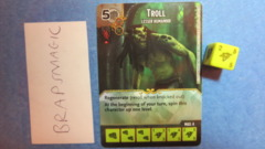 Dungeons & Dragons Dice Masters: Troll, Lesser (common)