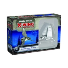 Star Wars X-Wing miniatures game Lambda-class Imperial Shuttle pack fantasy flight