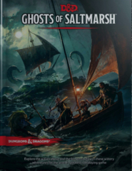 D&D 5th edition Dungeons and Dragons: Ghosts of Saltmarsh REGULAR EDITION