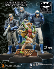 Batman Miniature Game: Carrie Kelly & Sons of Batman Knight Models