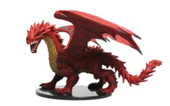 HUGE Red Dragon - Pathfinder Evolution Boxed Set