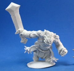 Reaper Bones Miniatures: Fire Giant Warrior 77178