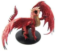 Pathfinder Battles Miniatures GARGANTUAN Red Dragon Dungeons Deep promo