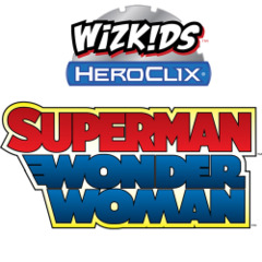 Heroclix: Superman and Wonder Woman 9-ct. booster brick