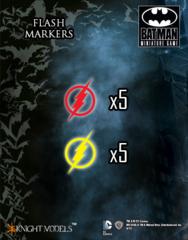 Batman Miniature Game: The Flash Markers (10) Knight Models
