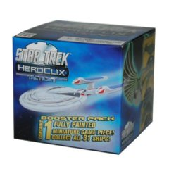 Heroclix: Star Trek Tactics series 2 II gravity feed booster pack