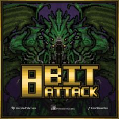 8 Bit Attack: PRESALE board game petersen games