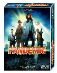Pandemic: 2013 edition base/core board game zman