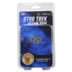 Star Trek Attack Wing: Bajoran Interceptor Five expansion pack wizkids