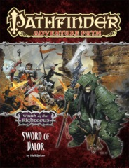 Pathfinder Adventure Path #74: Wrath of the Righteous chapter 2: Sword of Valor