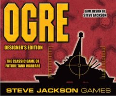 Ogre: designer's edition board game steve jackson games