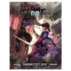 Infinity Roleplaying Game RPG: PRESALE Gamemaster's Guide modiphius