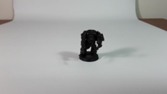 Warhammer 40K Rogue Trader: Inquisitor Terminator OOP metal loose GW