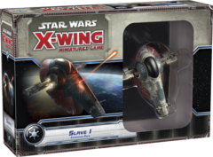 Star Wars X-Wing miniatures game Slave I pack fantasy flight