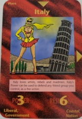 Illuminati - New World Order CCG: Italy