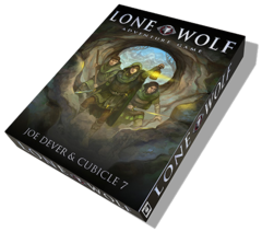 The Lone Wolf Adventure Game RPG: base/core boxed set