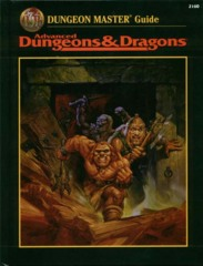 AD&D Dungeons & Dragons RPG: Dungeon Master Guide 2nd edition TSR 2160 1995