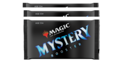 Mystery Booster Pack DRAFT PACK of 3 (regular retail edition)