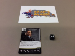 Marvel Dice Masters: Phil Coulson, Expert Recruiter #124 (rare)