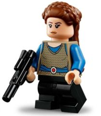 LEGO Star Wars 20th anniversary: Padme Amidala minifigure + blaster 75258 authentic