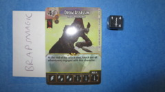 Dungeons & Dragons Dice Masters: Drow Assassin, Paragon (rare)