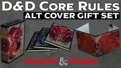 D&D 5th edition Dungeons and Dragons: Core Rulebook Gift Set LIMITED alternate covers edition
