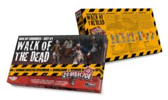 Zombicide: Walk of the Dead expansion box of zombies set 1
