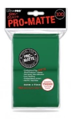 Ultra Pro PRO-Matte Standard Card Sleeves - Green (100-ct)