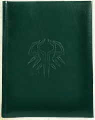 D&D 5th edition: Sandy Petersen's Cthulhu Mythos RPG Leather Bound kickstarter edition core rulebook