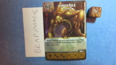 Dungeons & Dragons Dice Masters: Umber Hulk, Lesser (common)