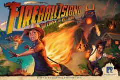 Fireball Island - The Curse of Vul-Kar: core board game restoration