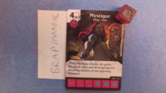 Marvel Dice Masters: Mystique, Alias: You #107 (rare)