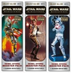Star Wars Miniatures Game: Rebel Storm sealed booster case (12-ct)