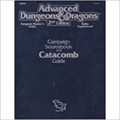 AD&D Dungeons & Dragons RPG: Campaign Sourcebook and Catacomb Guide TSR