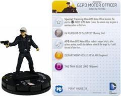 GCPD Motor Officer (049)