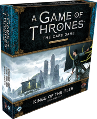 A Game of Thrones LCG: 2nd Edition King of the Isles deluxe expansion ffg