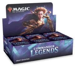 MTG: Commander Legends draft booster box display
