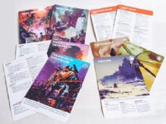 Legacy - Life Among the Ruins RPG: PRESALE 2nd edition Handout Sheets modiphius