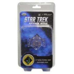 Star Trek Attack Wing: Dominion 5th Wing Patrol Ship 6 expansion pack wizkids