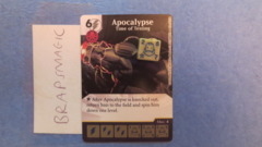 Marvel Dice Masters: Apocalypse, Time of Testing #96 (rare)