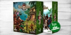 Skull Tales - Full Sail!: board game + Mega Expansion kickstarter exclusive edition in hand