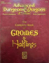 AD&D Dungeons & Dragons RPG: The Complete Book of Gnomes & Halflings TSR