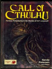 Call of Cthulh RPG: 4th edition core rulebook softcover chaosium