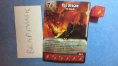 Dungeons & Dragons Dice Masters: Red Dragon, Epic (super rare)