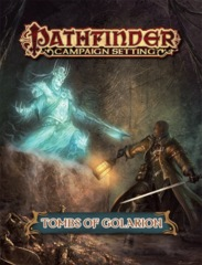Pathfinder Campaign Setting RPG Roleplaying Game: Tombs of Golarion