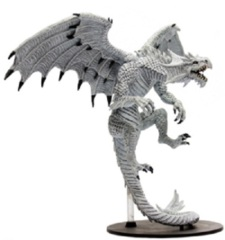 Pathfinder Battles Miniatures GARGANTUAN White Dragon Reign of Winter promo