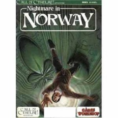Call of Cthulh RPG: Nightmare in Norway w/ all pullouts games workshop