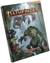 Pathfinder RPG: 2nd edition P2 Bestiary regular hardcover