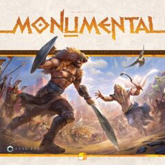 Monumental: board game Deluxe Pledge w/ miniatures kickstarter edition